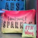 Veske «I don't sweat, I sparkle» thumbnail