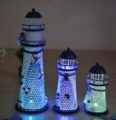 stk dekorativt fyrtårn med lys.  Celis.no- Lekker pynt til bursdag ...