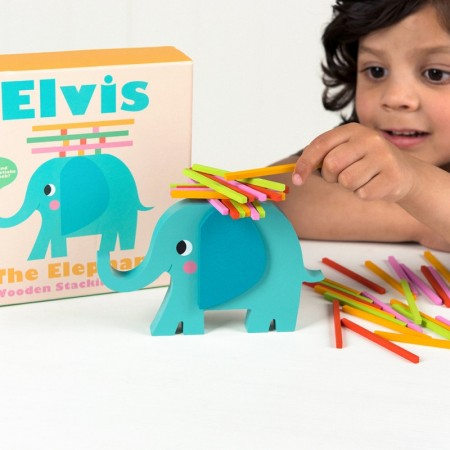 Elvis The Elephant - Stablespill