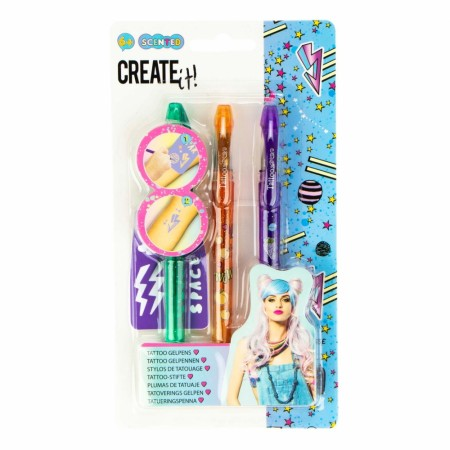 Create it! Tatovering pen 3-pk