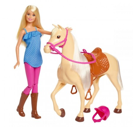 Barbie og hest
