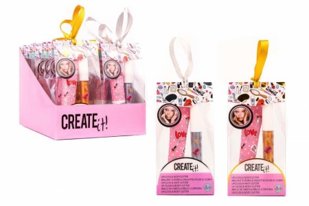 Create it! Lipgloss & Body Glitter