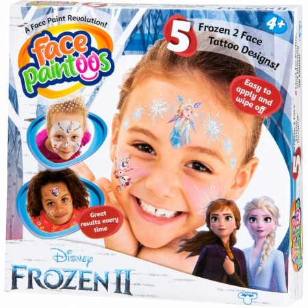 Disney Frozen 2 ansikts tatovering