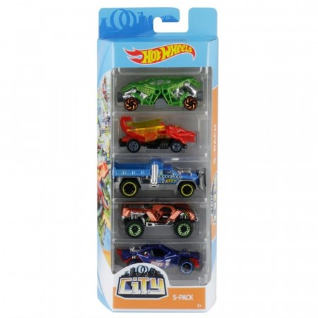 Hot Wheels 5-pk biler