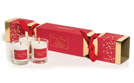 Stoneglow Nutmeg & Ginger Cracker Candle Gift Set