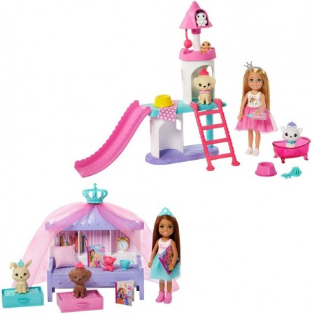 Barbie Princess Adventure Chelsea Princess- Lekesett