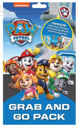 Paw Patrol « GRAB AND GO» fargeleggingspakke