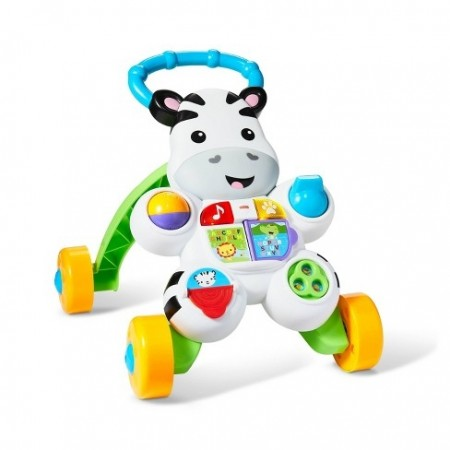 FISHER-PRICE-LEARN WITH ME ZEBRA WALKER