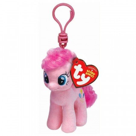 TY My Little Pony Pinkie Pie nøkkelhank