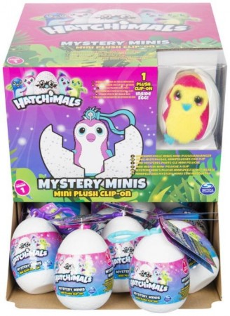 Hatchimals surprise nøkkelring mini