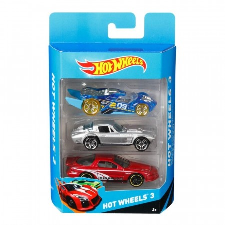 Hot Wheels biler 3-pk