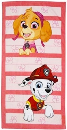 "Paw Patrol  ""Skye and Marshall"" badehåndkle"