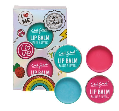 Chit Chat Lip Balm 2-pk