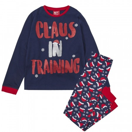 Julepysjamas «Claus in training»