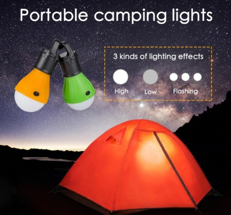 Camping LED lys
