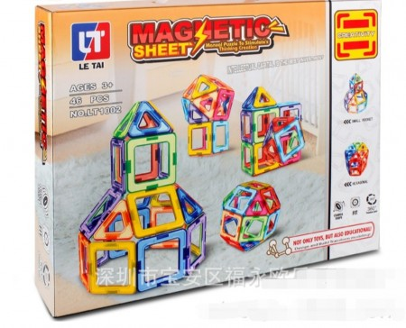 Magnetic byggesett ( 46 deler)