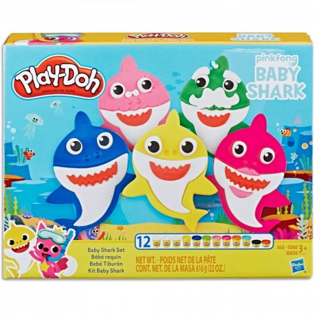 Play-Doh - Baby Shark Sett