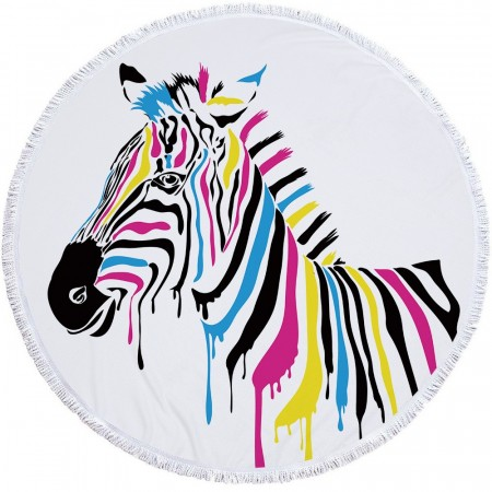 Zebra Colours badehåndkle