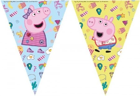 Peppa Gris vimpelbanner