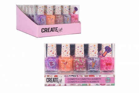 Create it! Neglelakk 5-pk