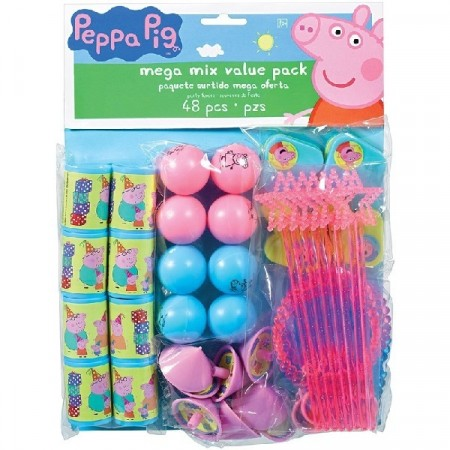 Peppa Gris 48- pk favor pack