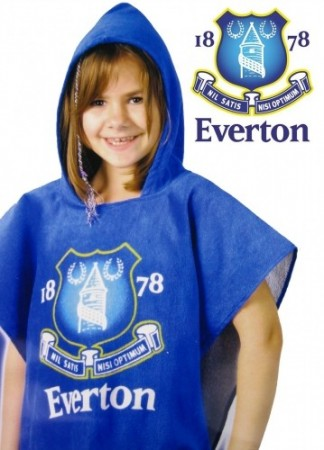 Everton FC badeponcho